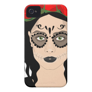 Day of the Dead iPhone 4 Case-Mate Case