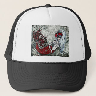 Day of the Dead Izabel Mermaid Trucker Hat