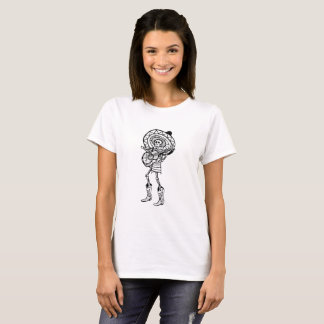 Day of The Dead Mariachi Band Member Skeleton T-Shirt