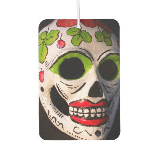 Day of The Dead Mask Air Freshener