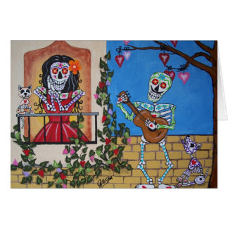 DAY OF THE DEAD  Midnight Serenade Card