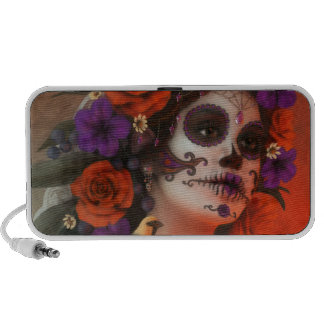 Day of the Dead Mp3 Speakers