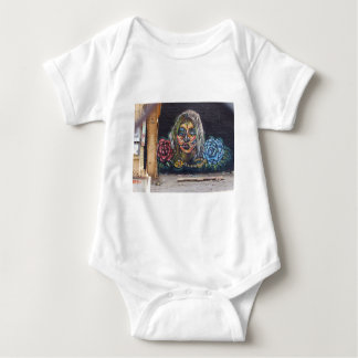 Day of the Dead Mural Baby Bodysuit
