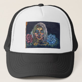Day of the Dead Mural Trucker Hat