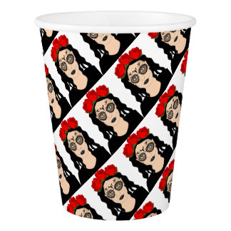 Day of the Dead Paper Cup