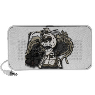day of the dead portable speaker