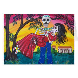 DAY OF THE DEAD  Scarlett and Rhett Card