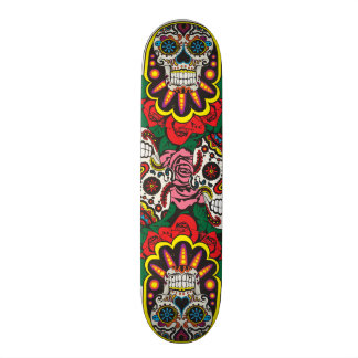 Day of the dead skate board deck