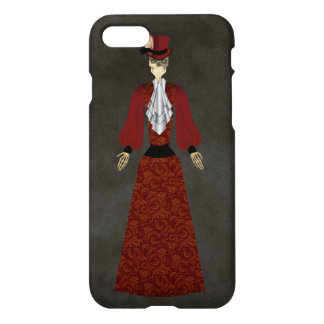 Day of the Dead Skeleton Doll iPhone 7 Case