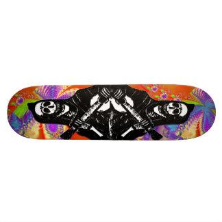 Day of the Dead Skeleton Skate Board