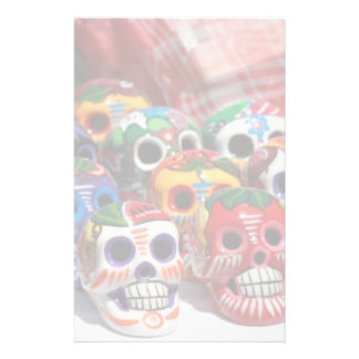 Day Of The Dead Skeletons Personalized Stationery