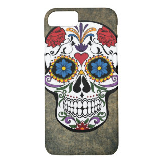 Day of the Dead Skull Día de Muertos Mexico iPhone 8/7 Case