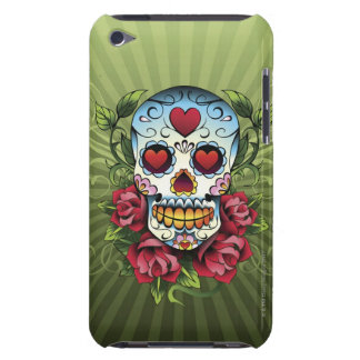 Day of the Dead Skull iPod Case-Mate Cases