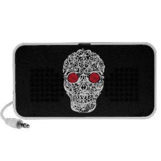 Day of the Dead Skull Notebook Speaker