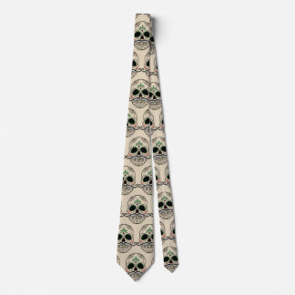 Day of the dead skull Tie by storeman