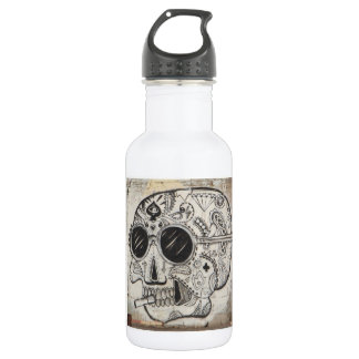 Day of the Dead (Skull) Water Bottle