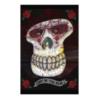 Day of the Dead Customized Stationery