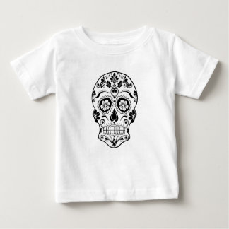 DAY OF THE DEAD SUGAR SKULL BABY T-Shirt