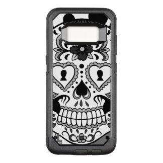 Day of the Dead Sugar Skull, by Skinderella OtterBox Commuter Samsung Galaxy S8 Case