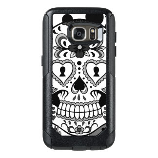Day of the Dead Sugar Skull, by Skinderella OtterBox Samsung Galaxy S7 Case