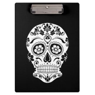 DAY OF THE DEAD SUGAR SKULL CLIPBOARD