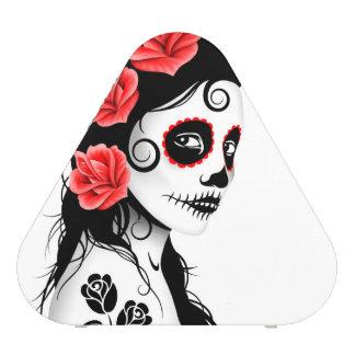Day of the Dead Sugar Skull Girl – White