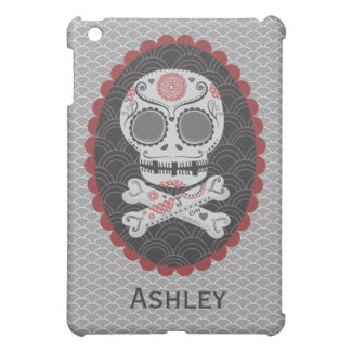 Day of the Dead Sugar Skull Mini Ipad Cover