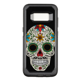 Day of the Dead Sugar Skull OtterBox Commuter Samsung Galaxy S8 Case