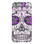 Day of the Dead Sugar Skull - Pink & Purple 1.0 Barely There iPhone 6 Case