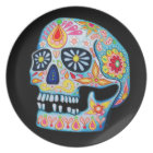 Day of the Dead Sugar Skull Plate