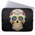 Day of the Dead Sugar Skull with Cross Laptop Sleeve