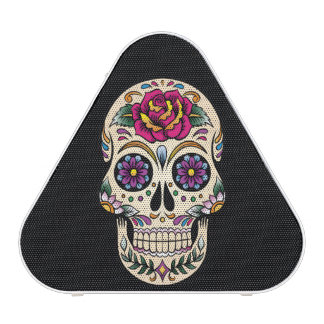 Day of the Dead Sugar Skull with Rose