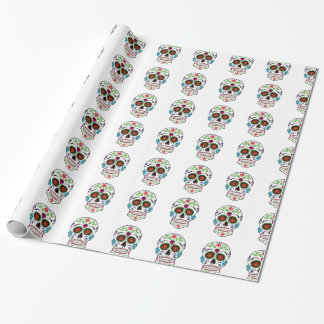DAY OF THE DEAD SUGAR SKULL WRAPPING PAPER