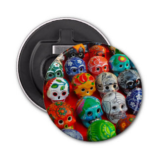 Day of the Dead Sugar Skulls Bottle Opener