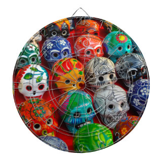 Day of the Dead Sugar Skulls Dartboard