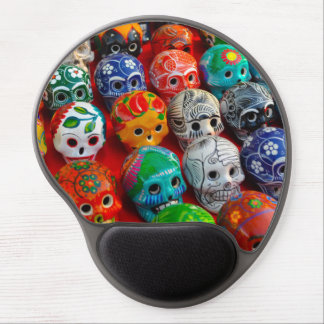 Day of the Dead Sugar Skulls Gel Mouse Pad