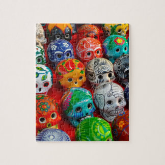 Day of the Dead Sugar Skulls Jigsaw Puzzle