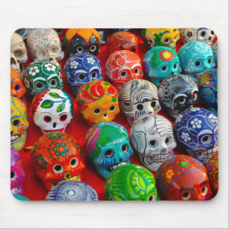 Day of the Dead Sugar Skulls Mouse Pad