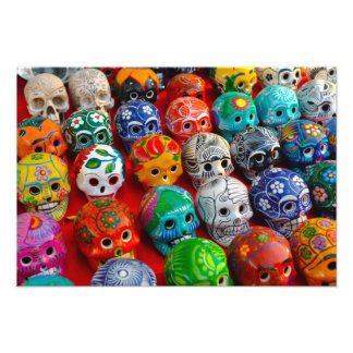 Day of the Dead Sugar Skulls Photo Print