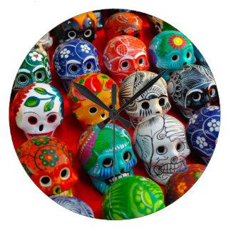Day of the Dead Sugar Skulls Wallclock