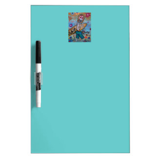 Day of the Dead Surfer Dry Erase Whiteboards