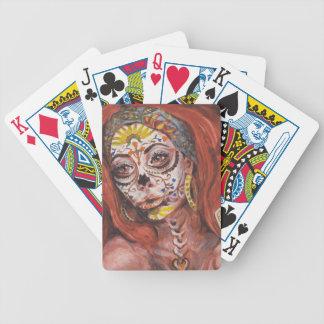 Day of the Dead Tarot Fortune Teller Poker Deck