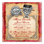 Day of the Dead Wedding Invitations 2