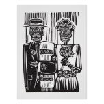 Day of the Dead Wedding Print