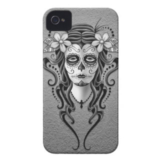 Day of the Dead Woman, Grey Case-Mate iPhone 4 Case