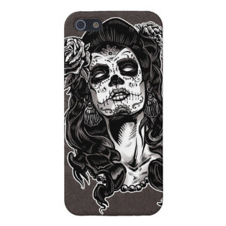 Day of the Dead Woman iPhone 5/5S Covers