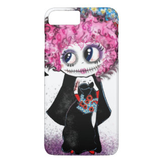 Day of the Dead, Zombie Bride iPhone 8 Plus/7 Plus Case