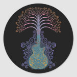 Day of the Guitree Round Sticker