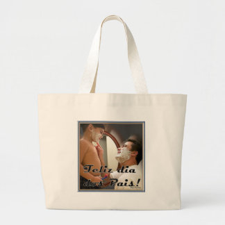 DAY OF THE PARENTS LARGE TOTE BAG
