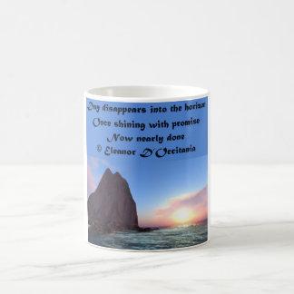 Day Recedes Poetry 11 oz. Classic Coffee Mug